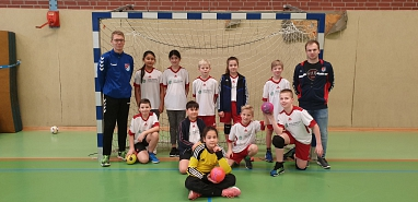 Handball©Gretel-Bergmann-Grundschule Eystrup