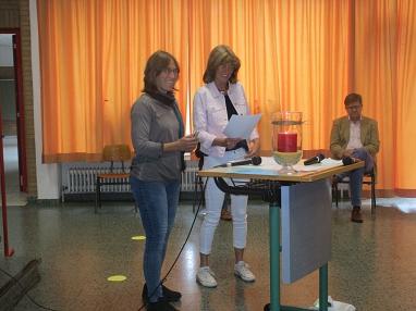 Ansprache_KL.JPG©Gretel-Bergmann-Grundschule Eystrup
