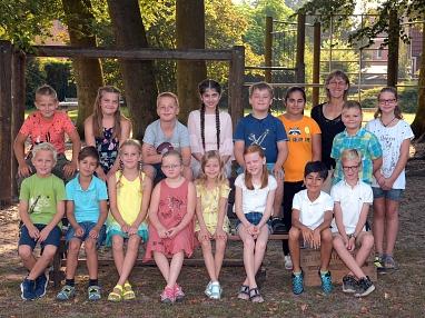 Klasse 4b©Gretel-Bergmann-Grundschule Eystrup