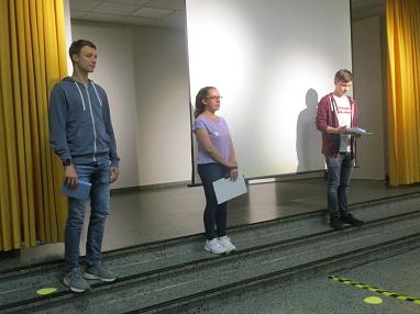 Verabschieden der Freiwilligendienstleistenden.JPG©Gretel-Bergmann-Grundschule Eystrup
